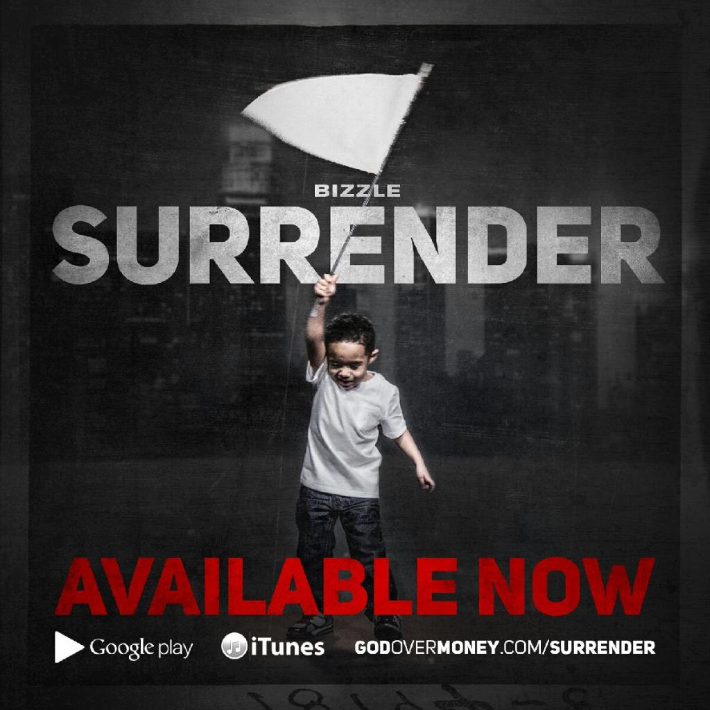 Surrender by Bizzle album cover
