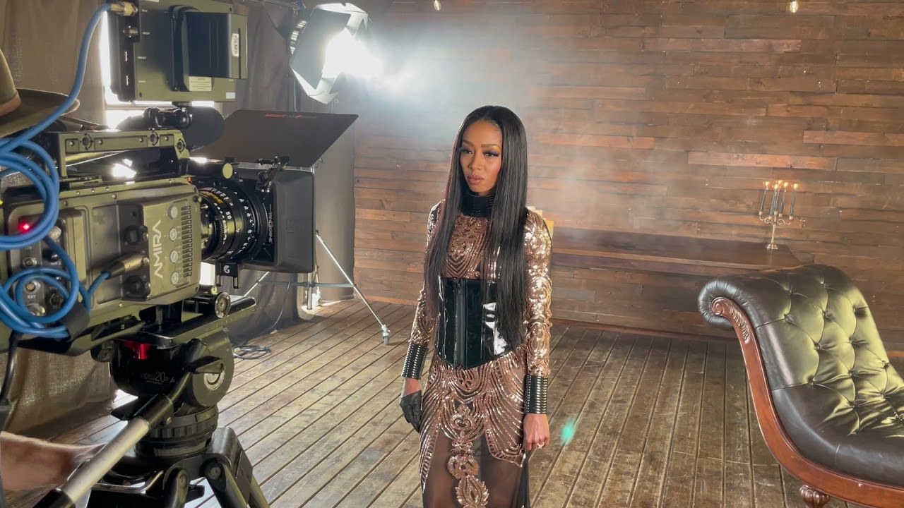 Behind the scenes of Serenade, official video shoot